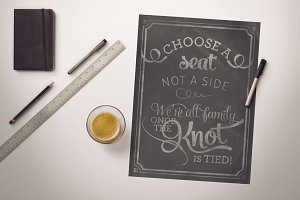 Choose-A-Seat Wedding Sign