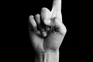 hand signal