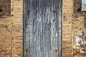 a vintage old wood