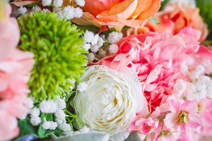 Floral Wedding Background