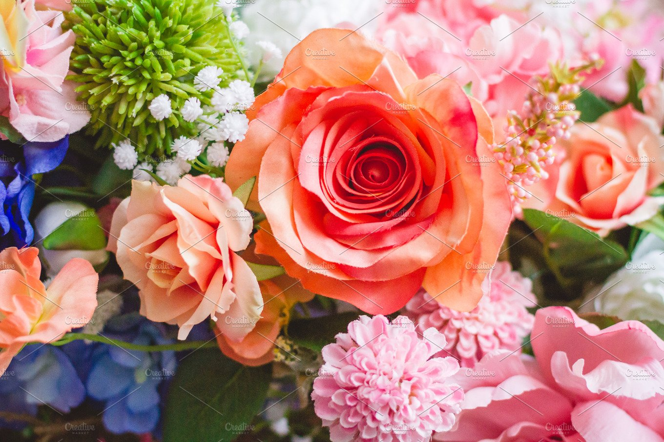 Floral Wedding Background Stock Photo Containing Floral And Flower High Quality Nature Stock Photos Creative Market