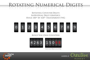 Rotating Counter Digits
