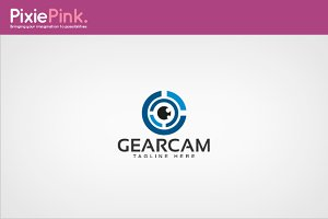 Gear Cam Logo Template