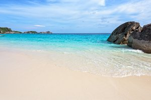 Beach and sea Similan island