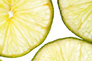 Citrus slices fresh fruit background