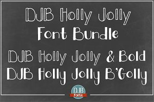 DJB Holly Jolly Fonts