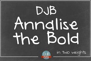 DJB Annalise the Bold