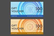 Template gift voucher Vol.4