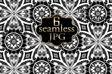 Seamless lace texture .