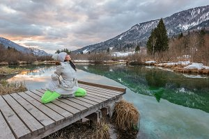 Morning Yoga Routine in Nature