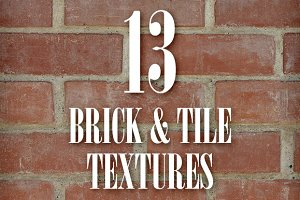 Seamless Brick & Tile Texture Pack 1