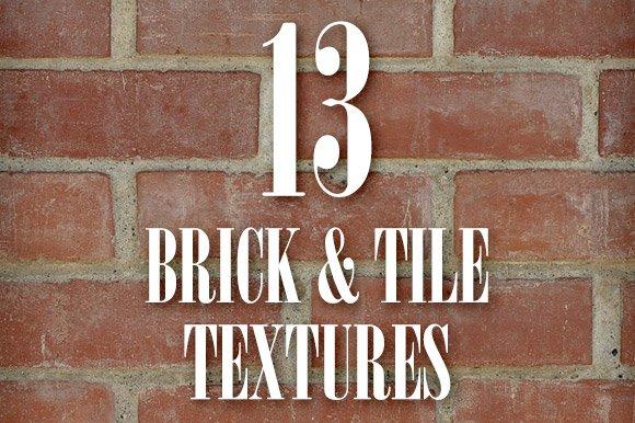 Seamless Brick & Tile Texture Pack 1