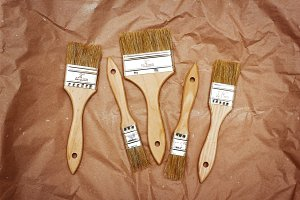Set of renovation brushes