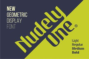 Nudely One - 4 Fonts