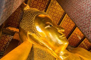 Golden image of Buddha