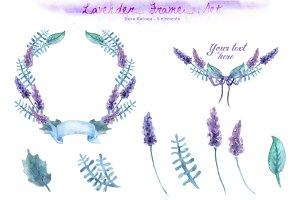 Lavender Frame Set