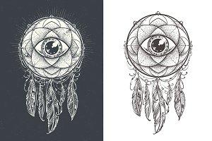 Dream Mandala Vector Art