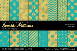 Seaside Digital Papers G&T