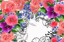 №93 Flower  illustration