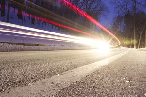 Long Exposure: Highway
