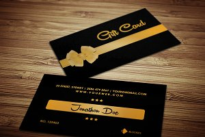 Loyalty/Gift Card Template