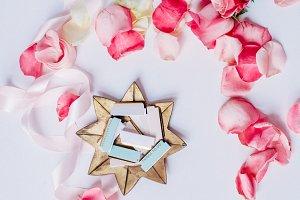 Blush Pink Roses I Styled Stock