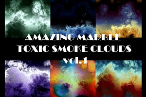 AMAZING MARBLE TOXIC SMOKE CLOUDS