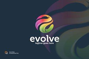 Evolve / Letter E - Logo Template
