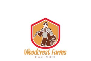 Woodcrest Farms Organic Products Log