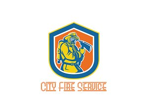 City Fire Service Logo