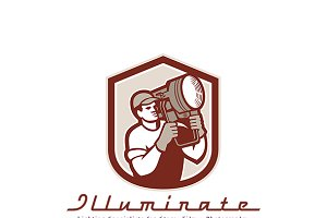 Illuminate Lighting Specialists Logo