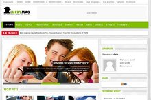 Luckymag -Responsive Mag WP theme