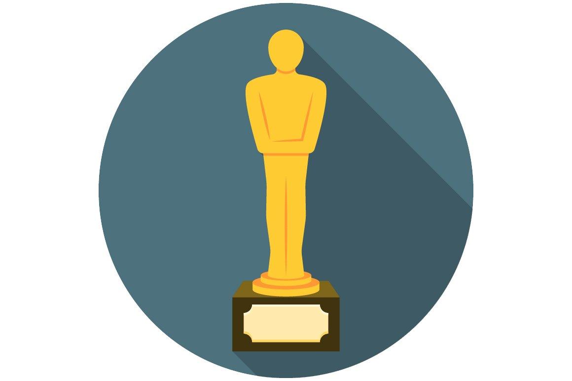 Movie award flat icon ~ Illustrations ~ Creative Market