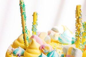Beautiful sweets Birthday cake