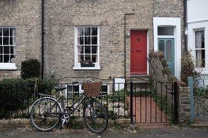 The bike and the door