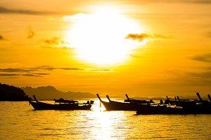 Sunrise at Lipe island.