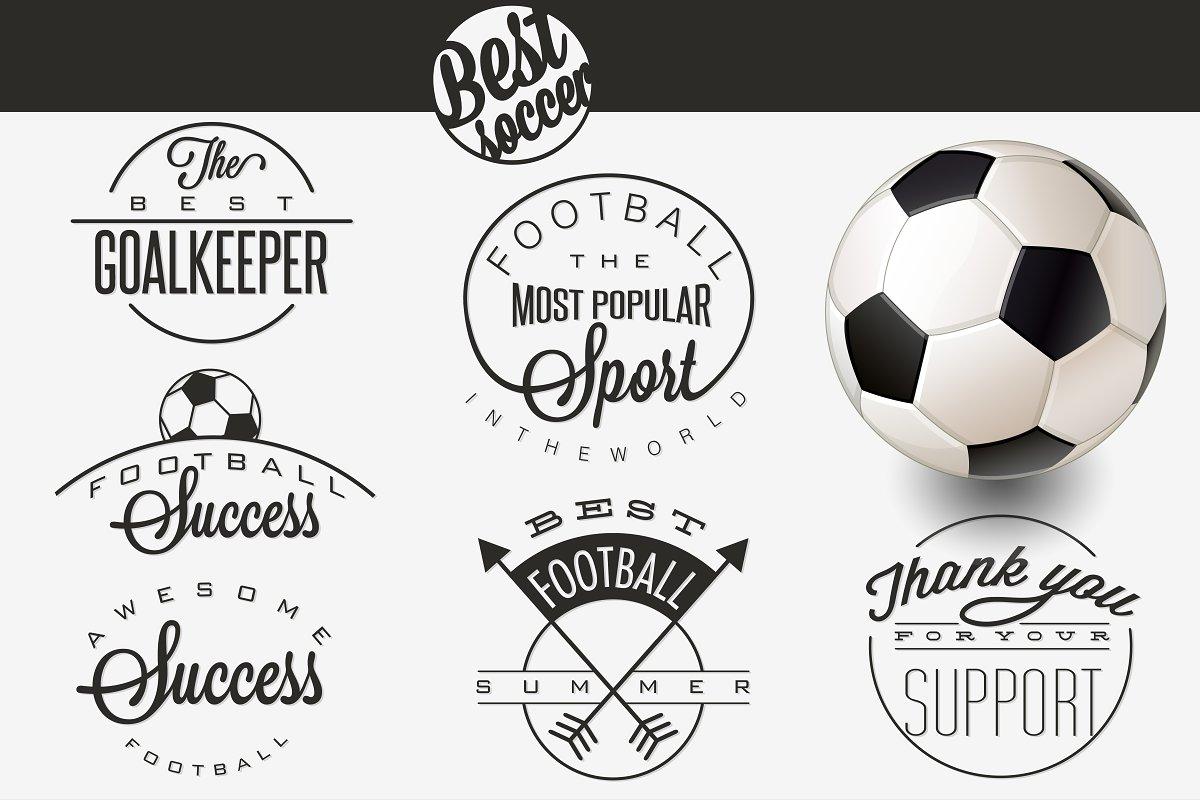 Soccer emblem collection