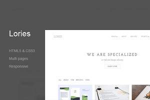 Lories - Portfolio & Agency(45% off)