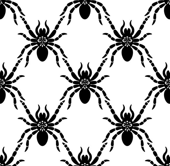 Spider web pattern