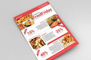 Food Promotional Flyer