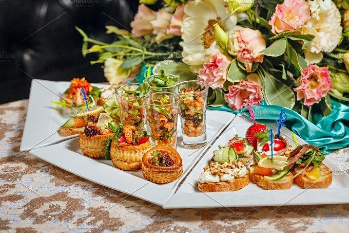 Restaurant food. Snacks - Food & Drink