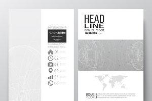 Bundle of 35 brochure templates