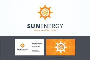 Sun energy logo