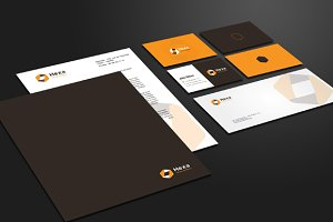 Luxury Corporate Stationery & Logo