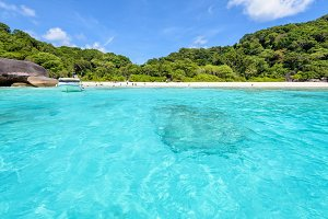 Beach at Similan Islands