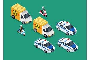 Police Motorcade Car Important