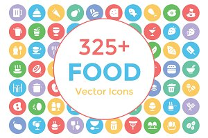 325+ Food Vector Icons