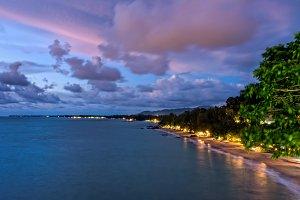 Sunset at Khao Lak Beach