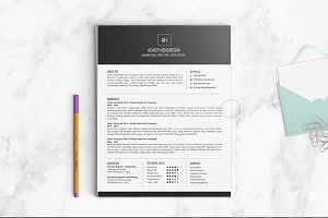Resume Template | The Ashley