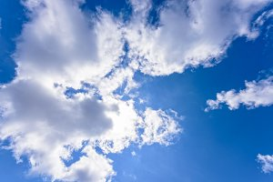Sky in summer